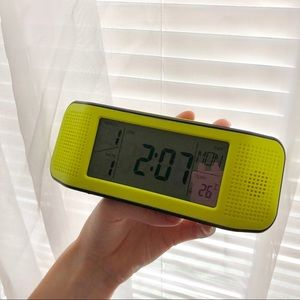 Other - Voice Controlled Lime Green Alarm Clock